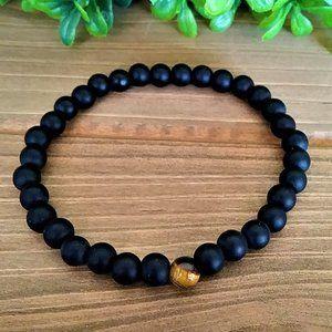 NEW Mens/Womens Unisex Natural Stone Bracelet